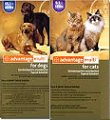 advantage multi combined flea and heartworm protection for dogs and cats